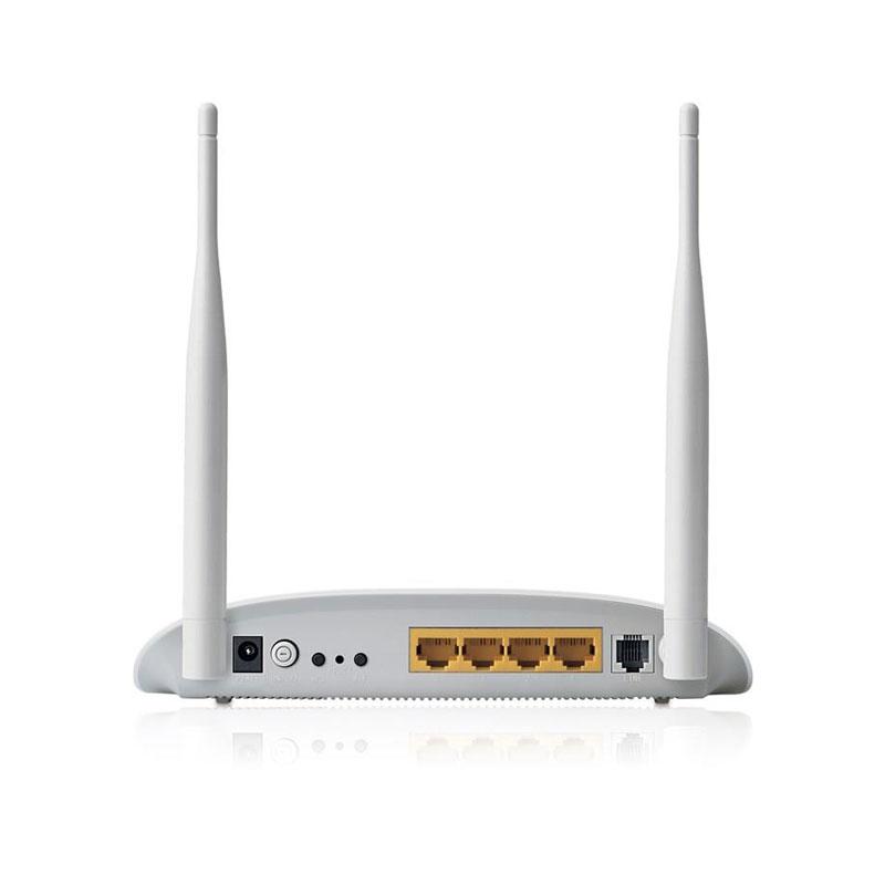 مودم ADSL2 Plus بیسیم N300 تی پی لینک TD-W8961N