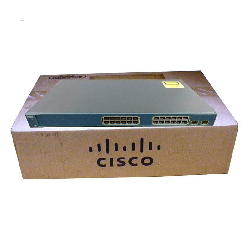 سوئیچ شبکه سیسکو 24 پورت WS-C3560-24PS-S