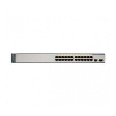 سوئیچ شبکه سیسکو 24 پورت WS-C3750V2-24PS-S