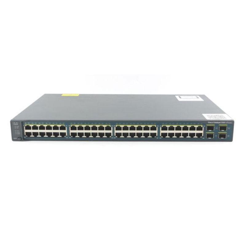 سوئیچ شبکه سیسکو 48 پورت WS-C3560G-48PS-S