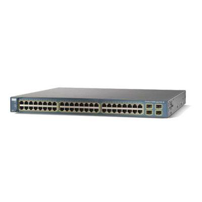 سوئیچ شبکه سیسکو 48 پورت WS-C3560G-48TS-S