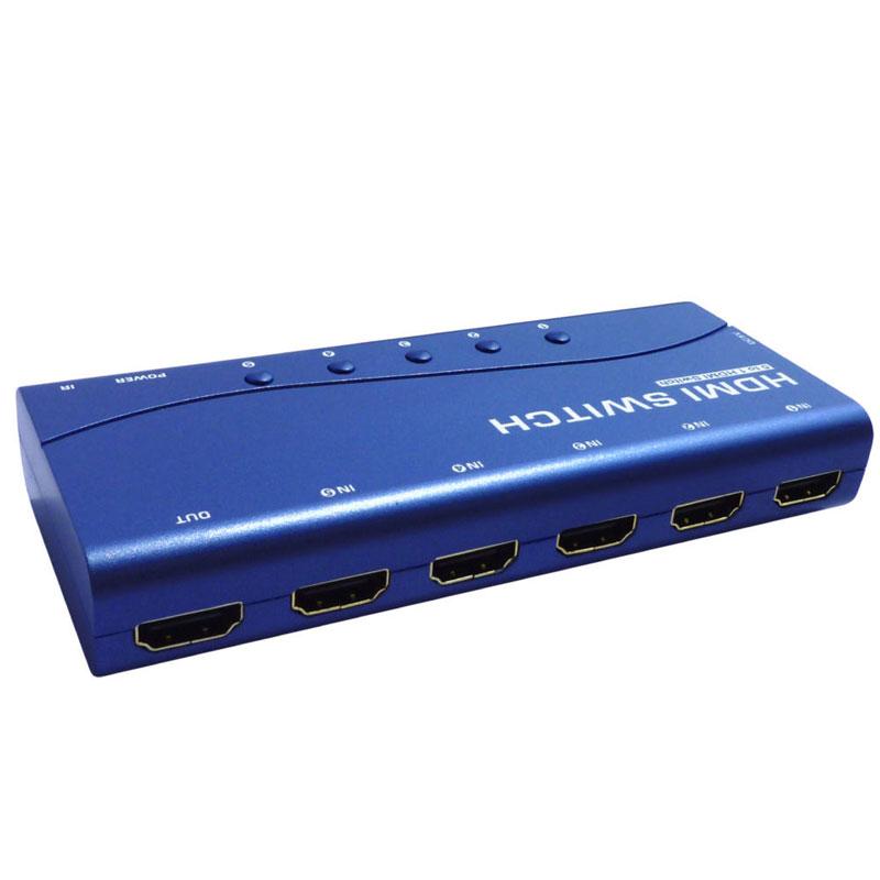 سوییچ 5 پورت HDMI کی نت پلاس KPS715