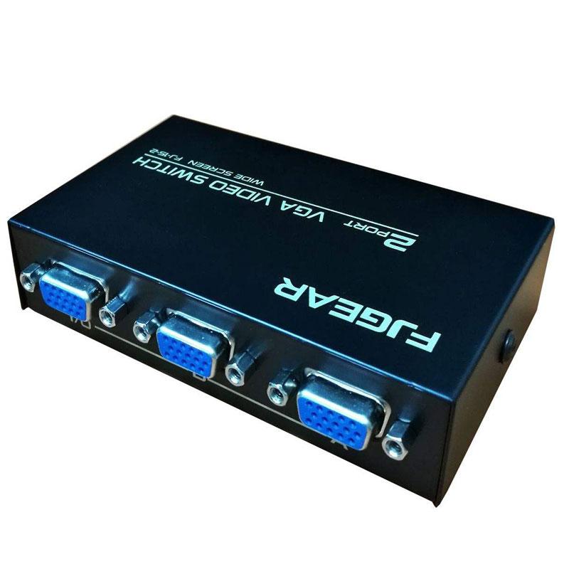 سوئیچ KVM دو پورت اف جی گیر VGA 2-15