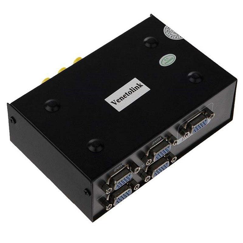 سوییچ 4 پورت VGA KVM ونتولینک V401