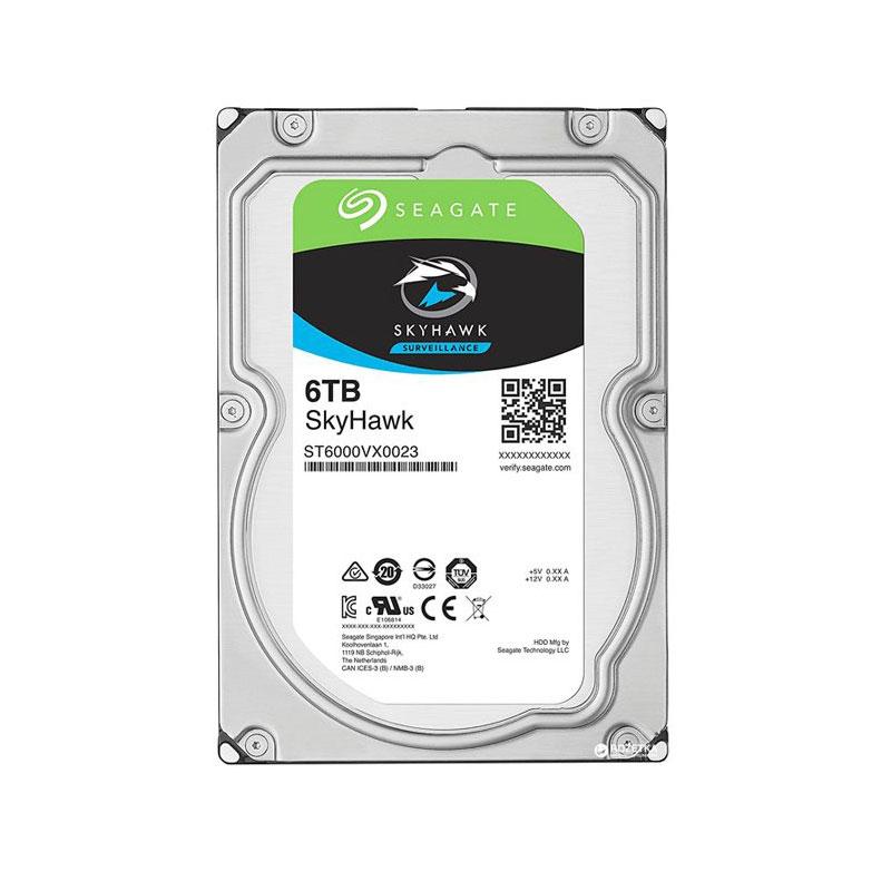 هارد دیسک اینترنال سیگیت 6 ترابایت اسکای هاوک ST6000VX0023