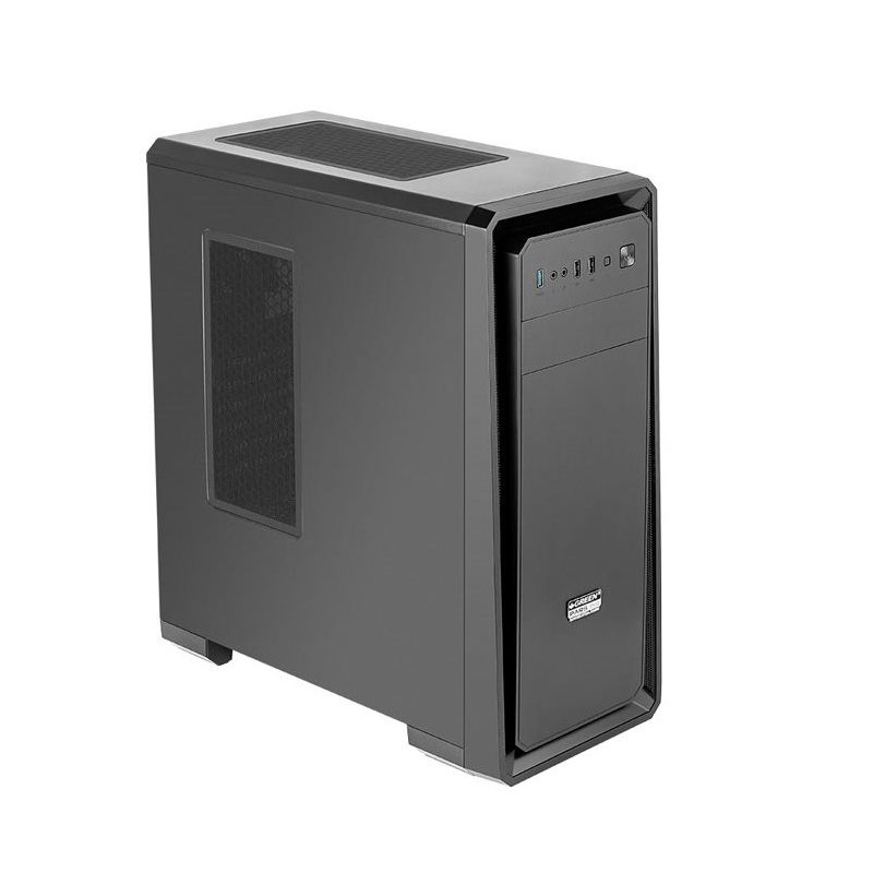 Green Pars Evo Computer Case