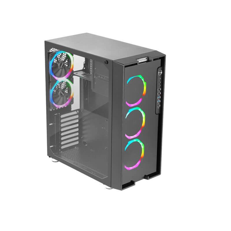 Green Z6 ARTEMIS Computer Case