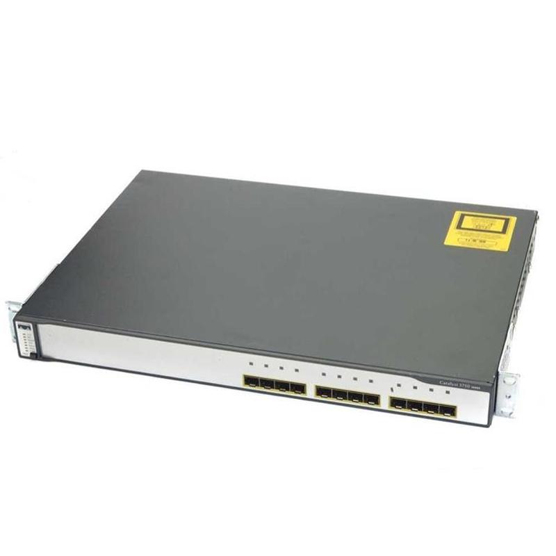 سوئیچ شبکه سیسکو 12 پورت WS-C3750G-12S-E