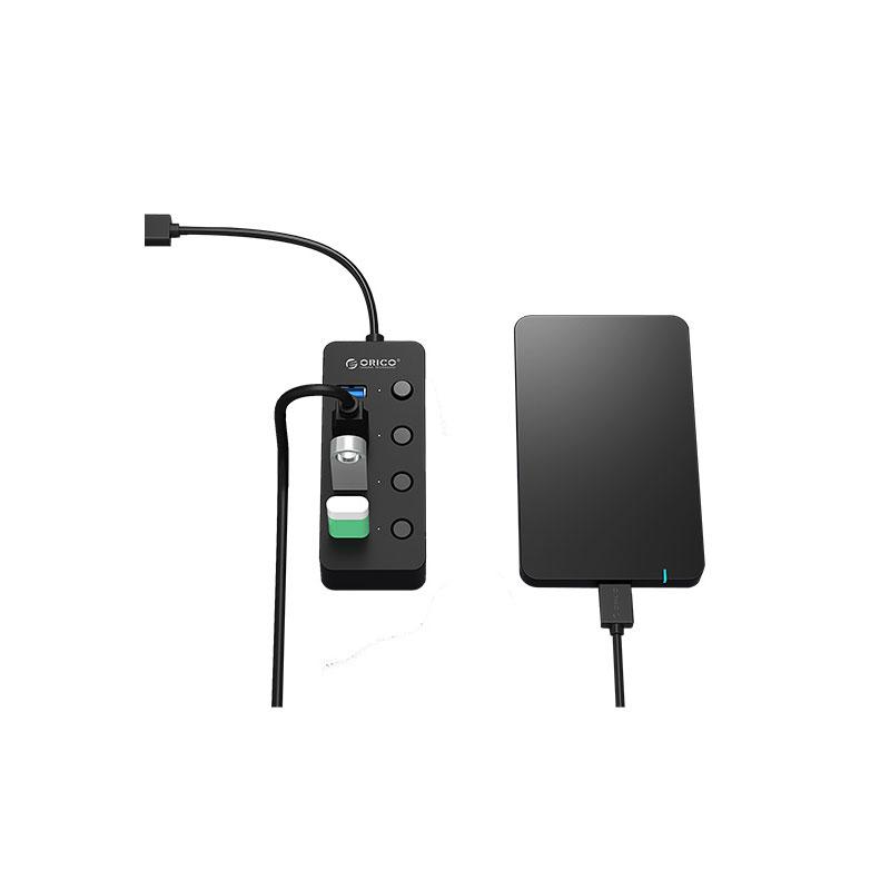 هاب 4 پورت USB 3.0 اوریکو W9PH4-U3-V1
