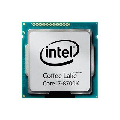پردازنده مرکزی اینتل سری Coffee Lake مدل Core i7-8700K بدون جعبه