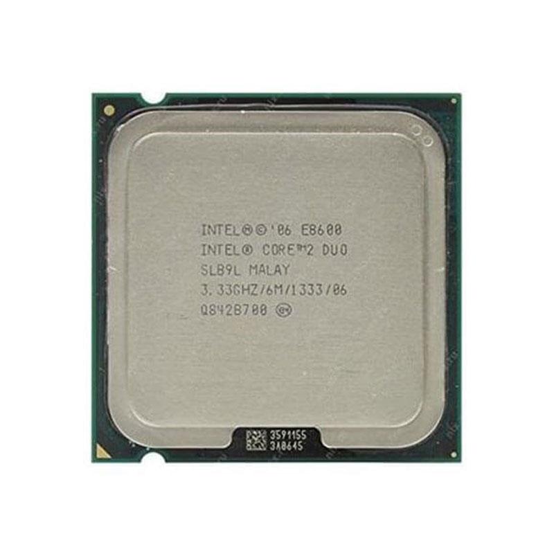 پردازنده اینتل مدل E8600 با سوکت 775 و فرکانس 3.33 گیگاهرتز