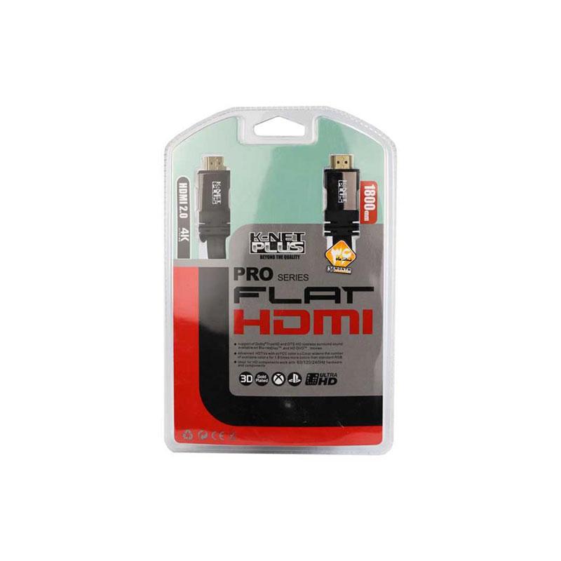 کابل HDMI کی نت مدل Plus به طول 1.8 متر