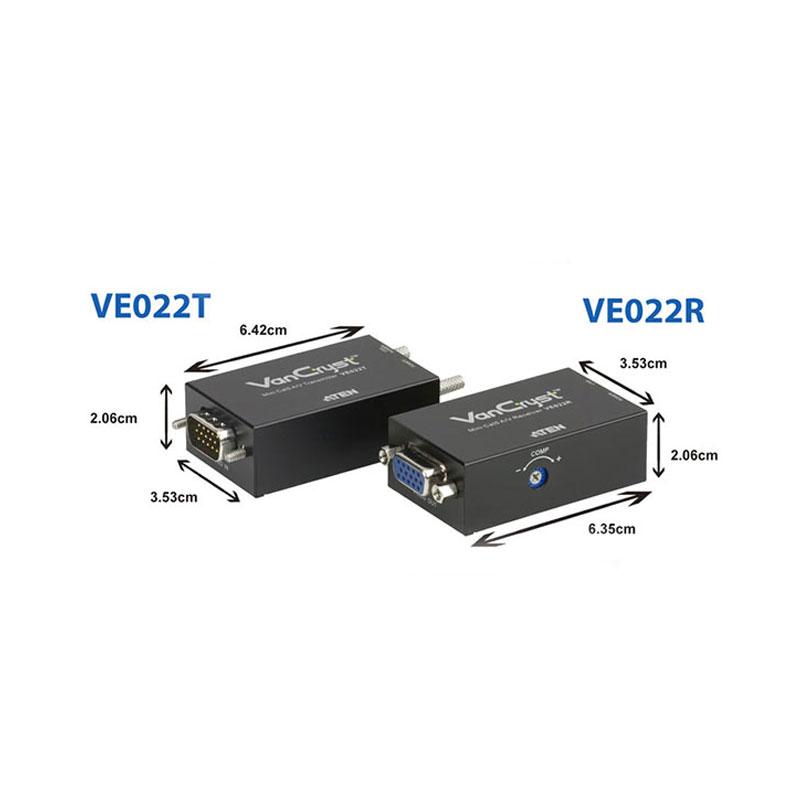 افزایش طول وی جی ای با کابل شبکه اتن VE022 150m