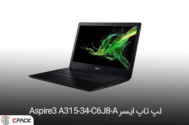 لپ تاپ ایسر Aspire3 A315-34-C6J8-A