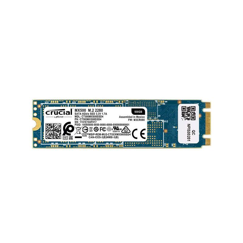 حافظه SSD کروشیال مدل MX500-M2 ظرفیت 500 گیگابایت