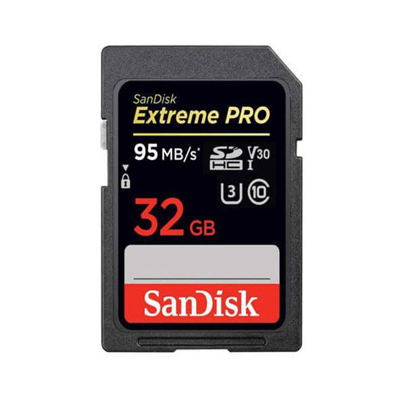 کارت حافظه SDHC سن دیسک مدل Extreme Pro