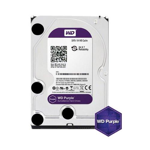 هارد دیسک اینترنال وسترن دیجیتال 8 ترابایت بنفش WD80PURX