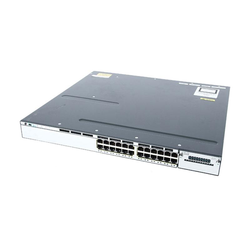 سوئیچ شبکه سیسکو 24 پورت WS-C3750X-24T-S