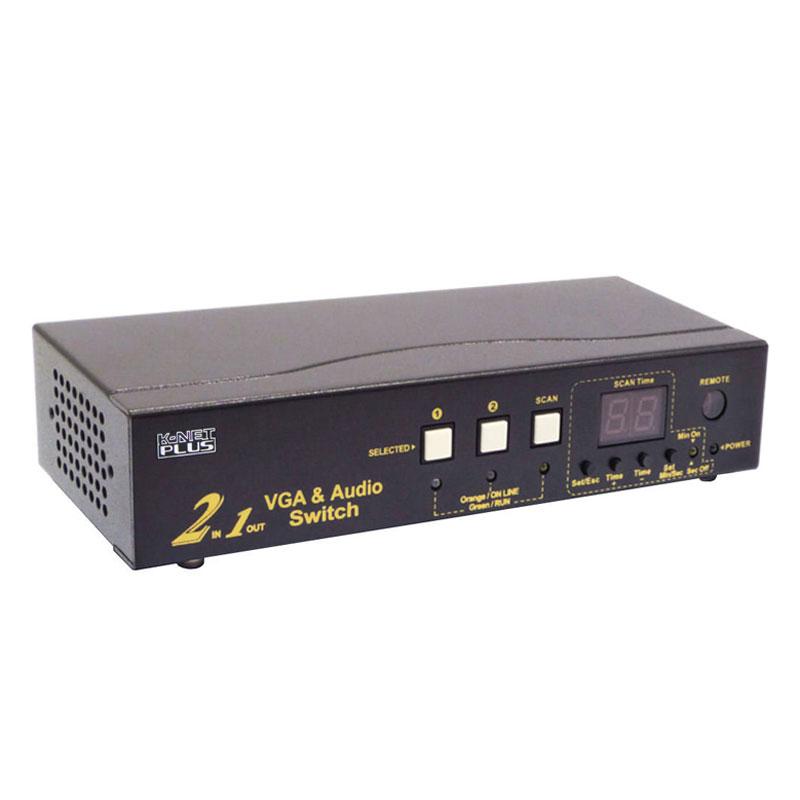سوییچ 2 پورت VGA کی نت پلاسKPS7302