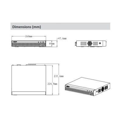 دستگاه دی وی آر داهوا DH-XVR5108HS 8CH