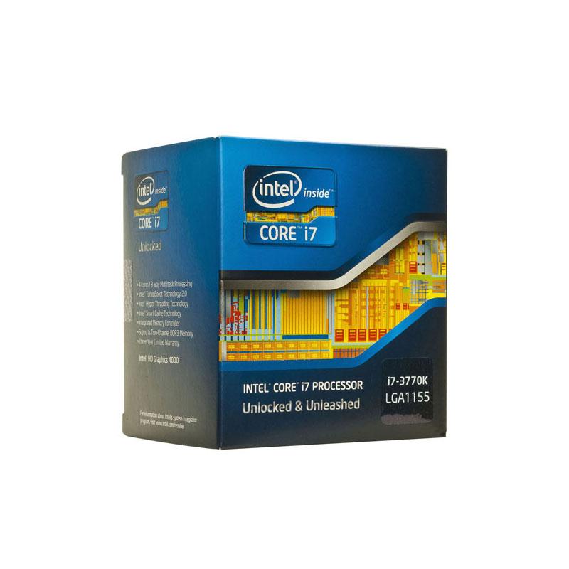 سی پی یو اینتل Core i7-3770