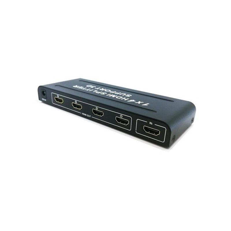 اسپلیتر یک به چهار پورت HDMI