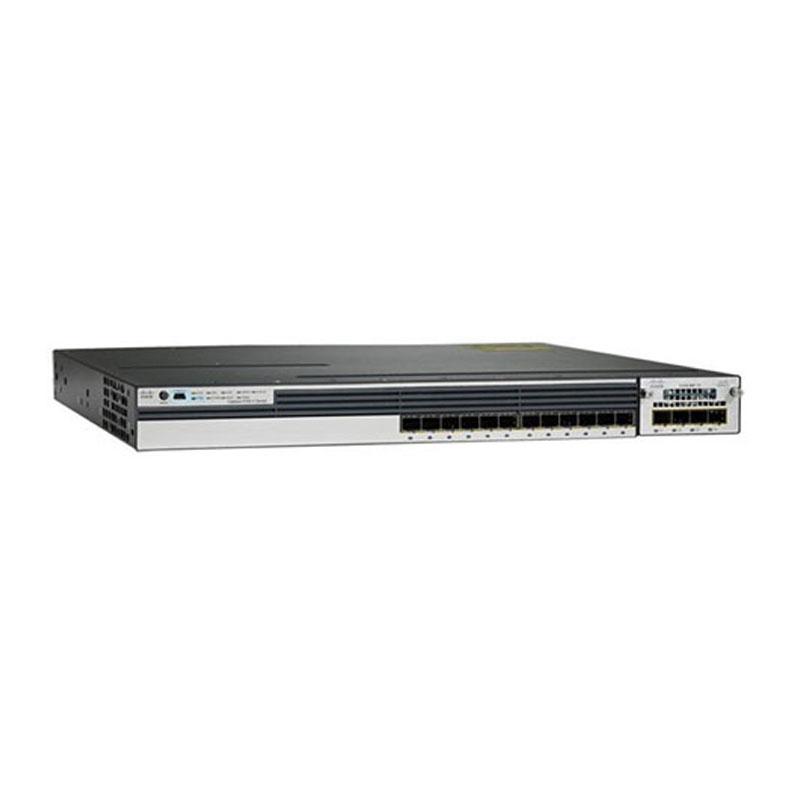 سوئیچ شبکه سیسکو 12 پورت WS-C3750X-12S-S