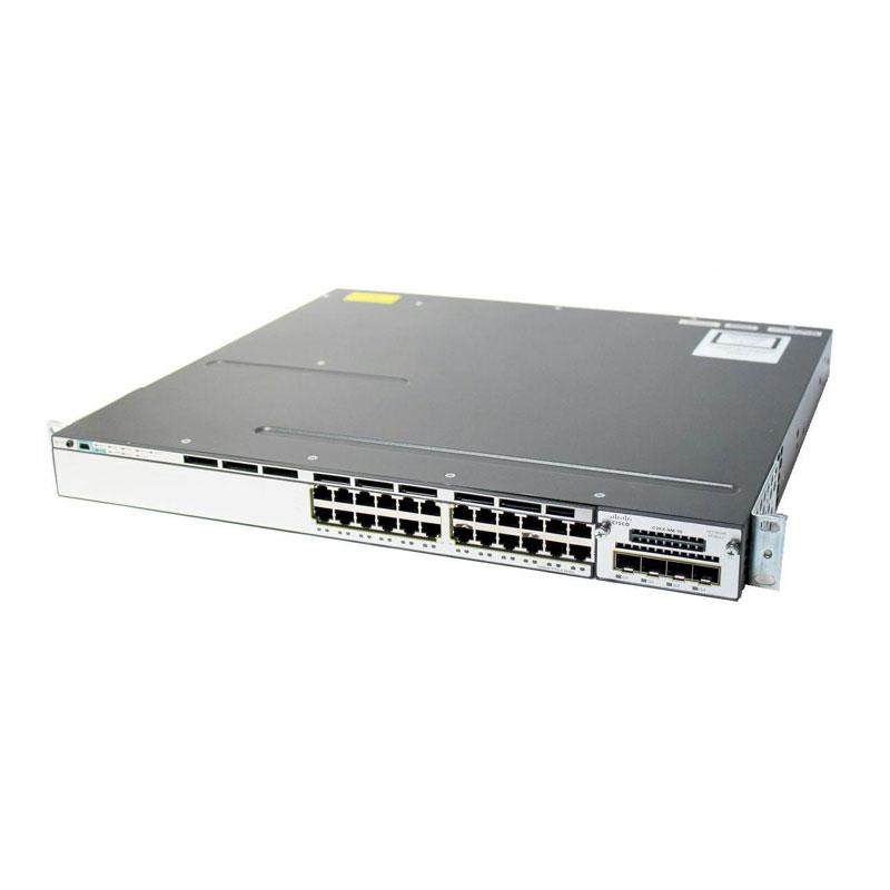 سوئیچ شبکه سیسکو 24 پورت WS-C3750X-24P-S